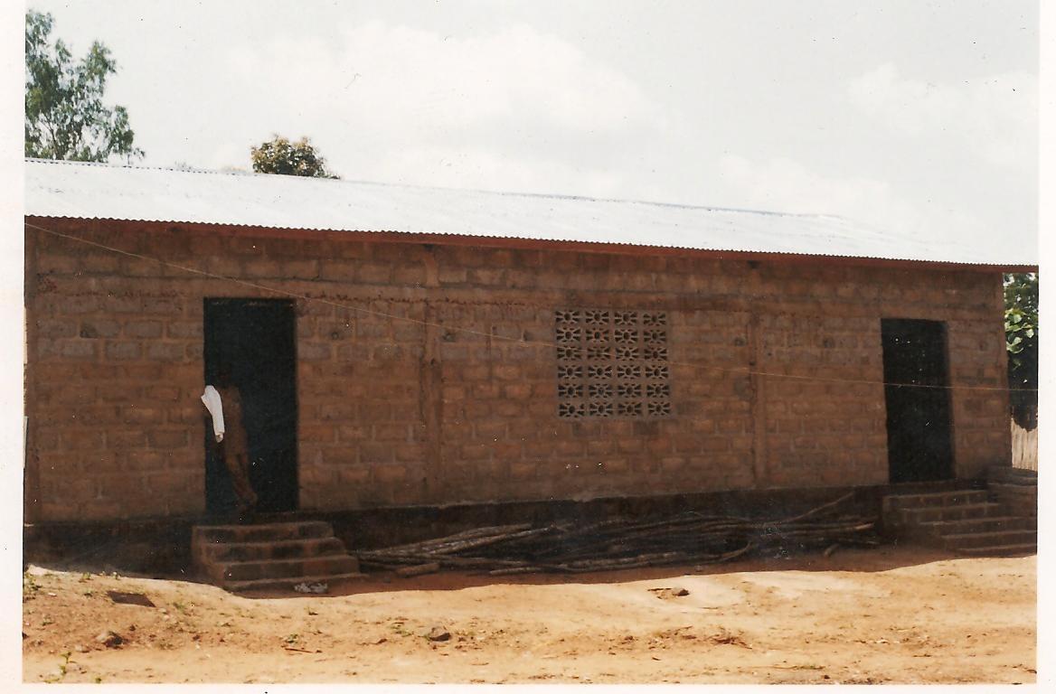 Die neue Kirche in Dado Ende 2010